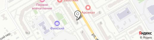 РуссУютСтрой на карте Щёлково