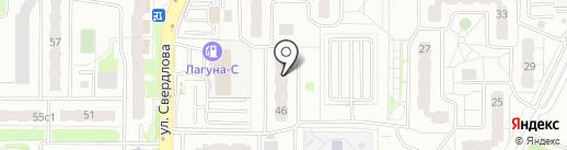 Ателье Марины Чистовой на карте Балашихи