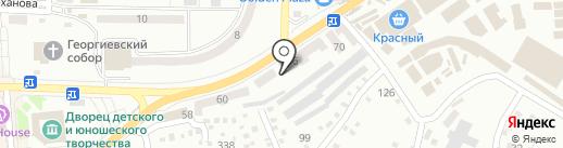Сталекс на карте Макеевки