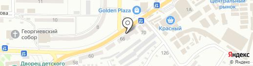 Магазин чулочно-носочных изделий на карте Макеевки