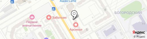 Супермедсервис на карте Щёлково