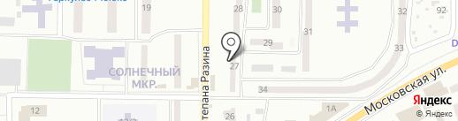 Участковый пункт милиции №13 на карте Макеевки