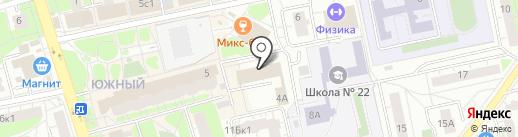 ФОГОСС на карте Балашихи