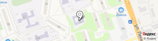 Детский сад №98 на карте Октябрьского
