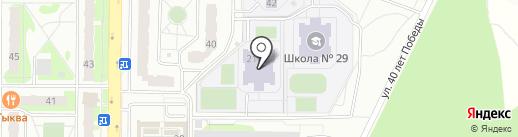 Земская гимназия на карте Балашихи