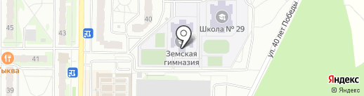 Темп на карте Балашихи