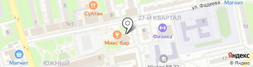 Твин Сервис на карте Балашихи