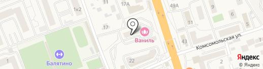 Пицца Хаус Суши на карте Октябрьского