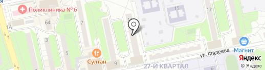 Платежный терминал, МОСКОВСКИЙ КРЕДИТНЫЙ БАНК на карте Балашихи