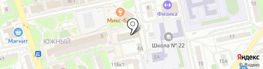 УФМС на карте Балашихи