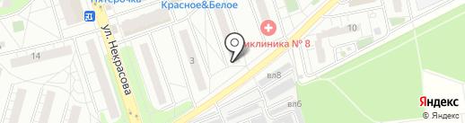 ЖСК Чайка, ПК на карте Балашихи