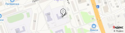 Детский сад №12 на карте Октябрьского
