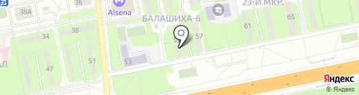 ЛКМ Торг на карте Балашихи