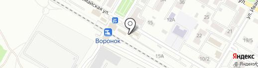 Магазин цветов на карте Щёлково
