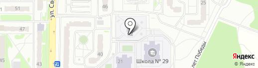 Детский сад №28 на карте Балашихи