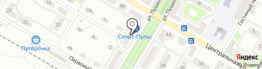 На Воронке на карте Щёлково