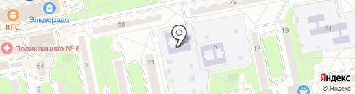 Детский сад №36, Жемчужинка на карте Балашихи