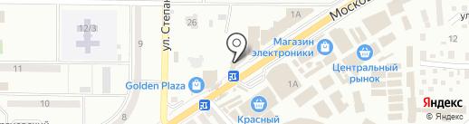 Саксэс на карте Макеевки
