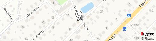 Продуктовый магазин на карте Долгого Ледово