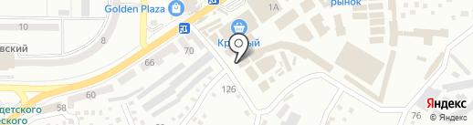 Вуаль на карте Макеевки