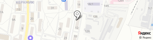 Библиотека №5 на карте Балашихи
