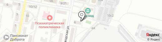 Общественный пункт охраны порядка №7 на карте Балашихи