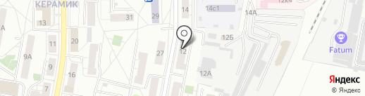 Библиотека №5 на карте Железнодорожного
