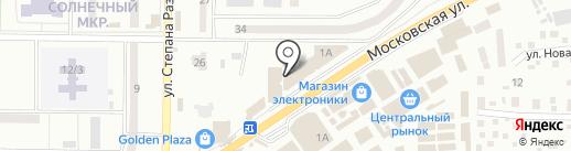 Акведук на карте Макеевки