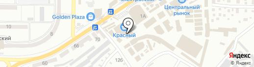 Трапеза на карте Макеевки