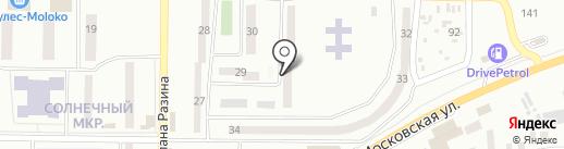 Визит на карте Макеевки