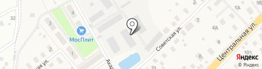 Коврооптторг на карте Долгого Ледово