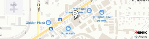 Валентина на карте Макеевки