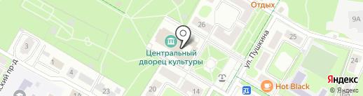 Щёлковский драматический театр на карте Щёлково