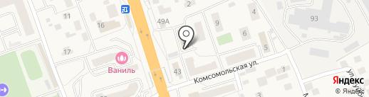 Sex Shop Moscow на карте Октябрьского
