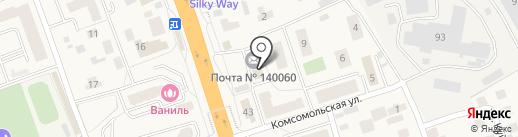 ЛПТУС на карте Октябрьского
