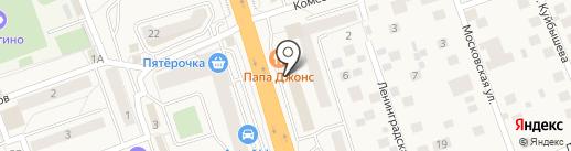 Белорусские кухни ЗОВ на карте Октябрьского