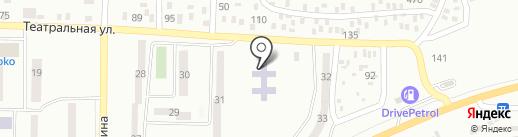 Детский сад №167 на карте Макеевки