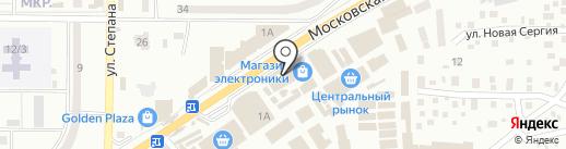 Мир света на карте Макеевки