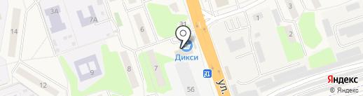 Магнит на карте Октябрьского