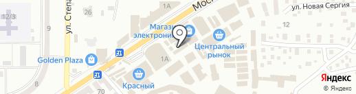 Мастер Класс, магазин мебели на карте Макеевки