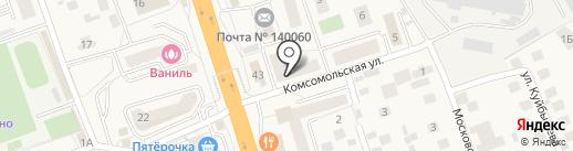 Азимут на карте Октябрьского