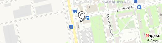 Пункт приема цветного металла на карте Балашихи