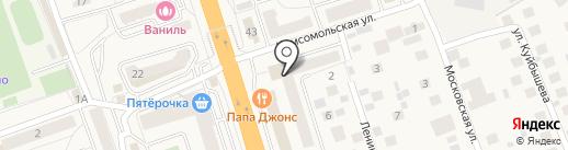 Администрация городского поселения Октябрьский на карте Октябрьского
