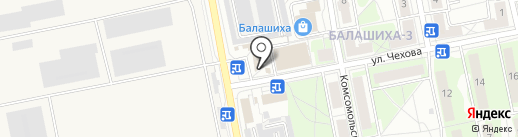 Великатес на карте Балашихи