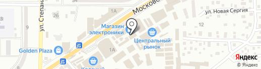 Сантехстрой на карте Макеевки