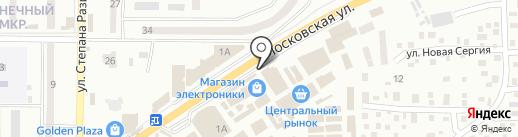 Аквамастер1 на карте Макеевки
