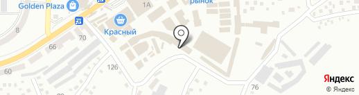 Магазин-салон мебельных тканей на карте Макеевки