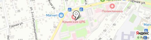 Управление здравоохранения на карте Крымска
