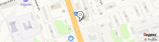 Табачный капитан на карте Октябрьского