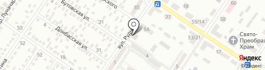 Дон на карте Макеевки